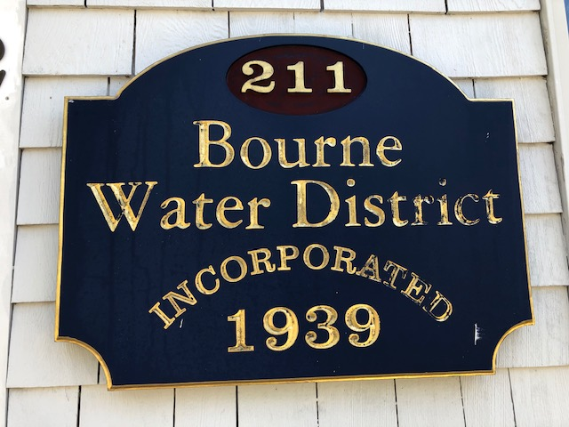 Bourne Water District Sign